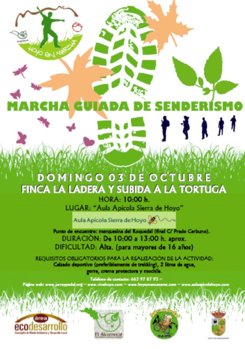 Marcha guiada senderismo- Educación ambiental
