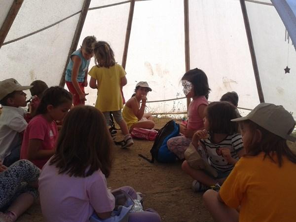 Campamento de verano del Aula Apícola