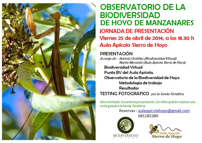 Observatorio de la Biodiversidad de Hoyo de Manzanares