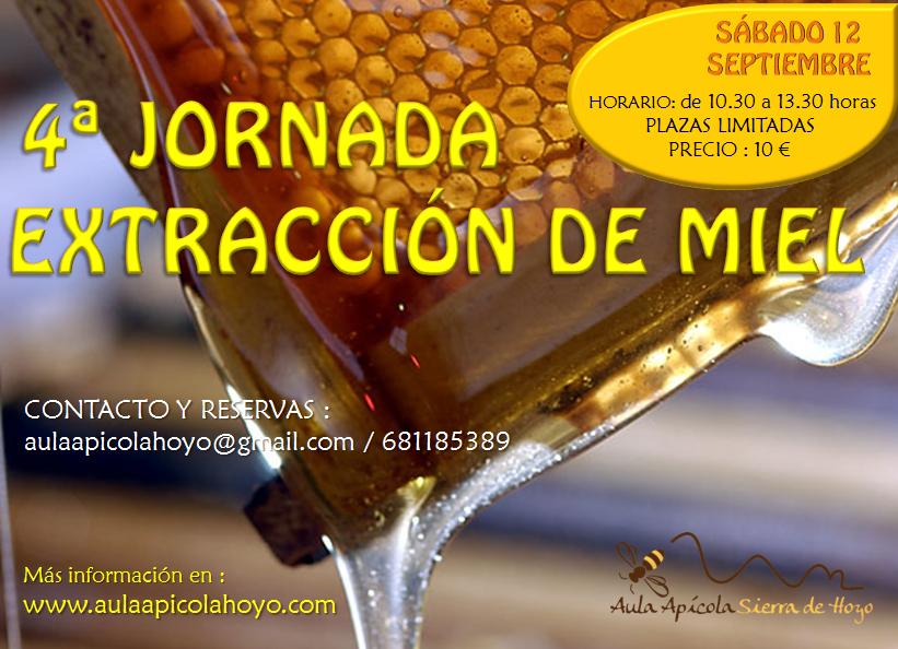 4ª jornada de extracción de miel