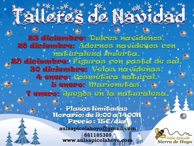 Talleres para niños en Navidad - Educación ambiental Madrid