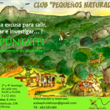 "Club ""Pequeños Naturalistas"""