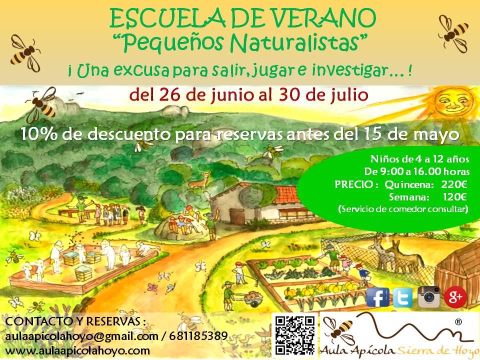 Campamento de Verano del Aula Apícola Sierra de Hoyo
