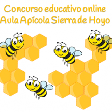 Concurso educativo online Aula Apícola Sierra de Hoyo.