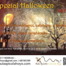 Talleres por Halloween (Samaín) en el Aula Apícola