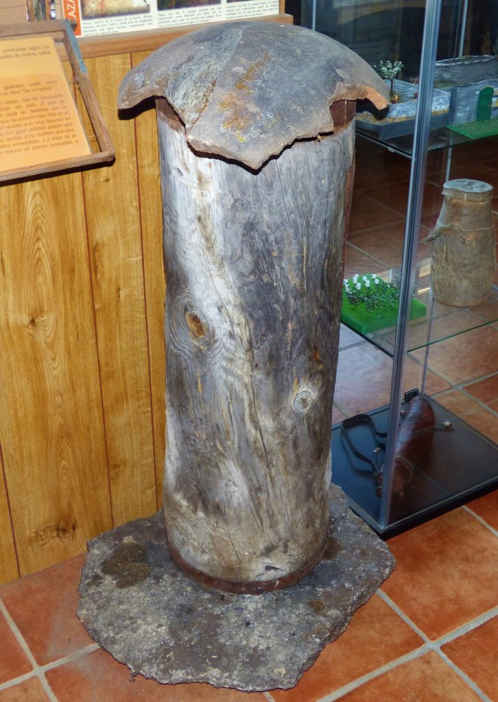 Colmena museo apícola
